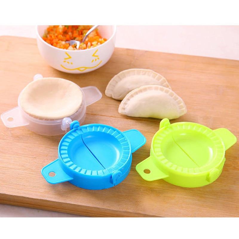 3PC DUMPLING MOULD DOUGH PRESS DIY MEAT PIE PASTRY MAKER SAMOSA Mold Makers Empanada silicone mold kitchen accessories