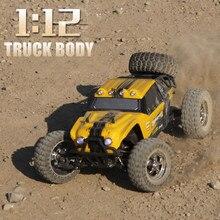 JTY Spielzeug RC Lkw 112 55 km/h Doppel Geschwindigkeit Fernbedienung Lkw Off-Road Fahrzeug 4WD Bigfoot Klettern Truggy elektrische Spielzeug Auto