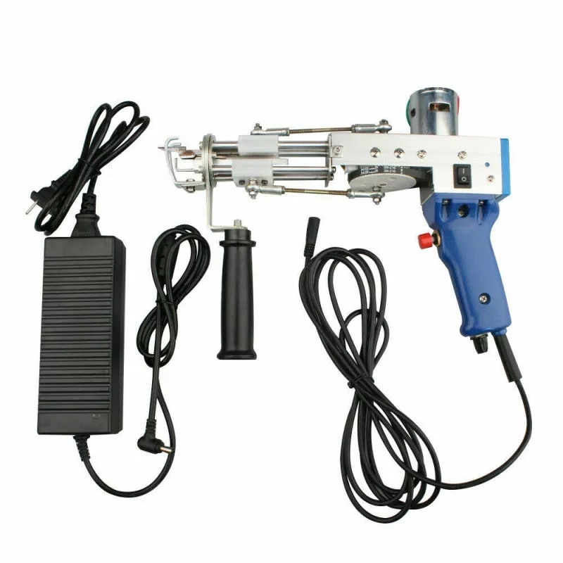 Electric Carpet Tufting Gun, Carpet Weaving Machine, Flocking Machine, Hand-Held Industrial Tufting Gun Rug Making Tools enlarge