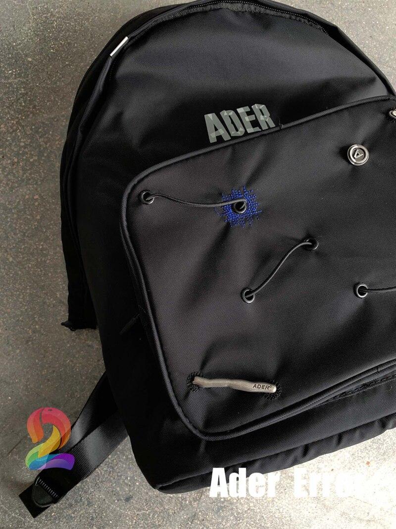 حقيبة ظهر aderخطأ للرجال والنساء عالية الجودة متعددة الوظائف حقائب يد مطرزة بخيوط غير منتظمة حقيبة ظهر عصرية