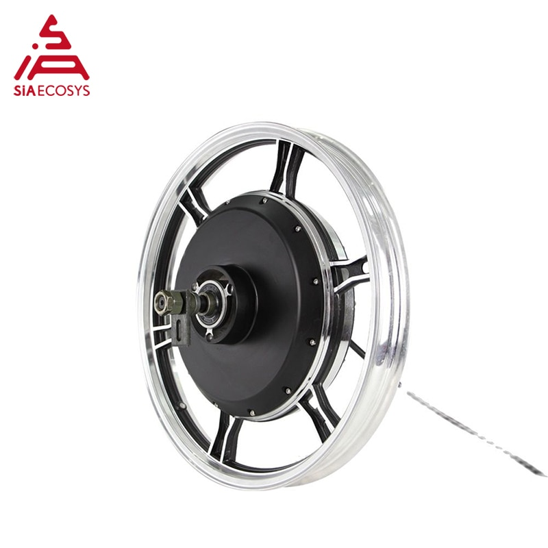 QS Motor 17*1.6 Inch 2000W 72V 70km/h Electric Hub Motor with  Programable Controller kits for Motorcycle enlarge