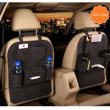 Neueste 1PC Auto Lagerung Tasche Universal Box Zurück Sitz Tasche Organizer Rücksitz Halter Taschen Auto-styling Schutz Auto zubehör