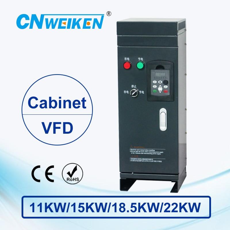 Convertidor de frecuencia de Control de Vector WK600 11kw/15kw/18.5kw/22kw inversor de frecuencia variable de tres fases 380V para motor VFD
