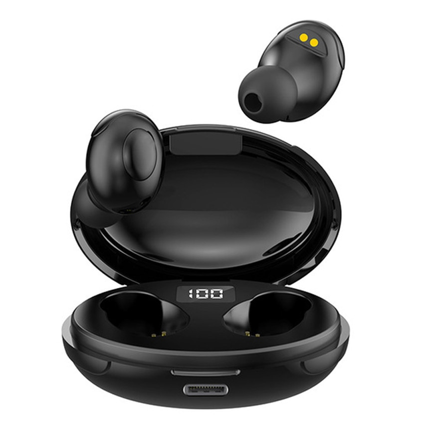 Auriculares estéreo TWS con Bluetooth cascos binaurales con de ruido de carga......