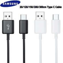 Original 20cm/150cm/300cm USB 3.1 TYPE-C Fast Charging Data Cable For Samsung Galaxy A31 A41 A51 A71 5G S20 S10 S9 S8 Plus Note8
