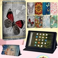 cover case for amazon fire 7 5th 7th 9thhd 8 6th 7th 8thhd 8 10th genhd 8 plus 2020hd 10 5th 7th 9th with butterfly pattern