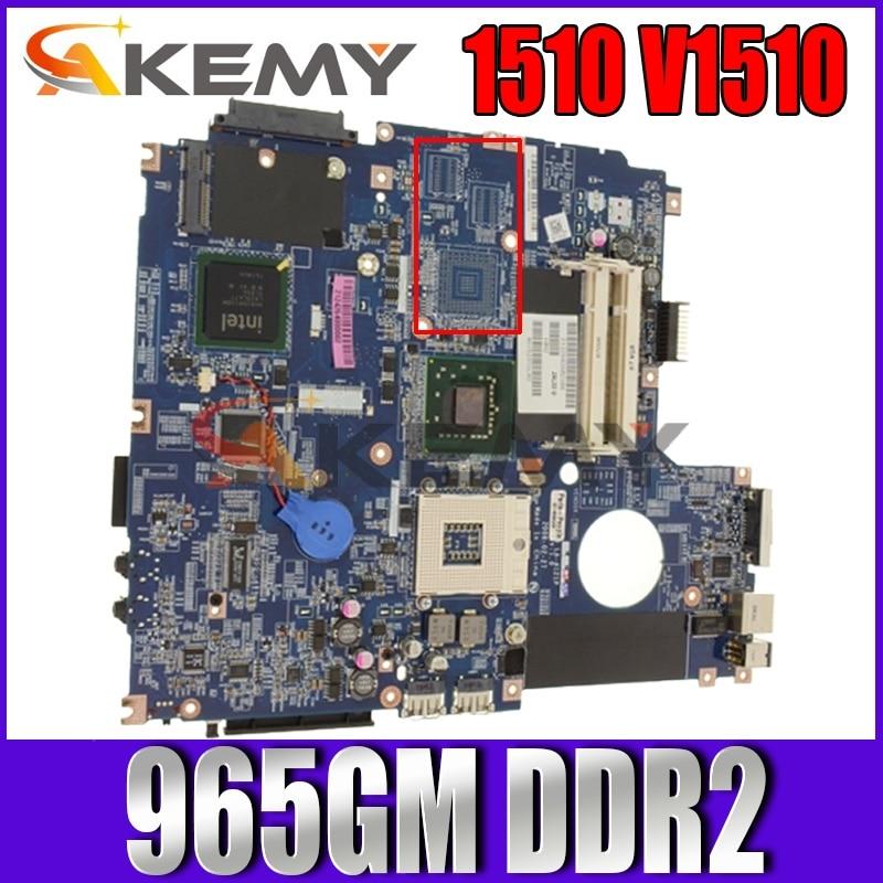 Akemy لديل Vostro 1510 V1510 اللوحة المحمول JAL30 LA-4121P CN-0J475C 0J475C J475C 965GM DDR2 شحن وحدة المعالجة المركزية