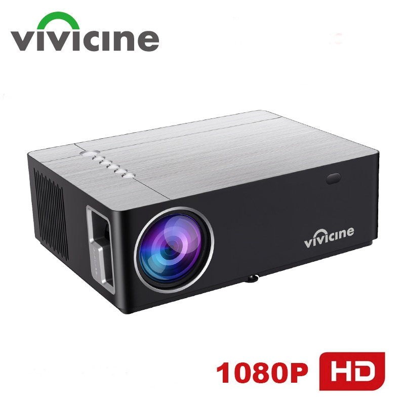 Vivicine M20 Newest 1080p Projector,Option Android 10.0 1920x1080 Full HD LED Home Theater Video Pro