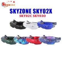 Skyzone SKY02X/ SKY02C/ SKY03O 5.8Ghz 48CH Diversiteit Fpv Bril Ondersteuning Dvr Hdmi & Head Tracker Fan Voor rc Racing Drone