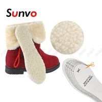 winter wool warm heated insoles for kids and adult shoes thermal thickened artificial cashmere keep warm shoe inserts soles pad