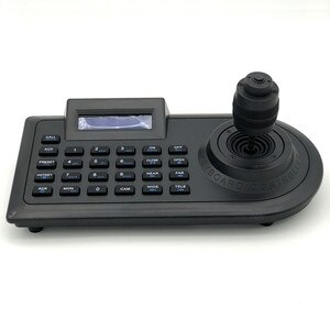 4D Keyboard Controller Joystick 4KD LCD Screen Display for RS485 PTZ Analog AHD Camera DVR Matrix Switching Security CCTV System
