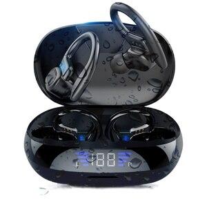 Беспроводные спортивные наушники KNUPATH VV2, наушники-вкладыши с сенсорным управлением и светодиодным дисплеем, музыкальная гарнитура для Iphone, Huawei, наушники с Bluetooth