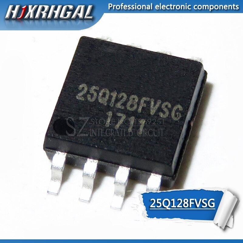 1PCS W25Q128FVSG W25Q32BVSIG W25Q32FVSSIG W25Q64BVSIG W25Q64FWSIG W25Q80BVSIG W25Q64FVSIQ HJXRHGAL SOP IC novo e original