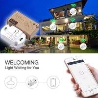 Module de commutateur a distance sans fil intelligent Homekit  wi-fi  10a  Module domotique  fonctionne avec Tuya Alexa Google Home  bricolage