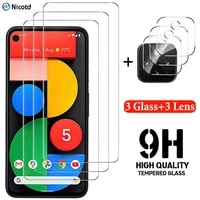 full glue tempered glass for google pixel 5 4 3 1 screen protector for pixel 4a 5g protective lens film for google pixel 4 3 xl