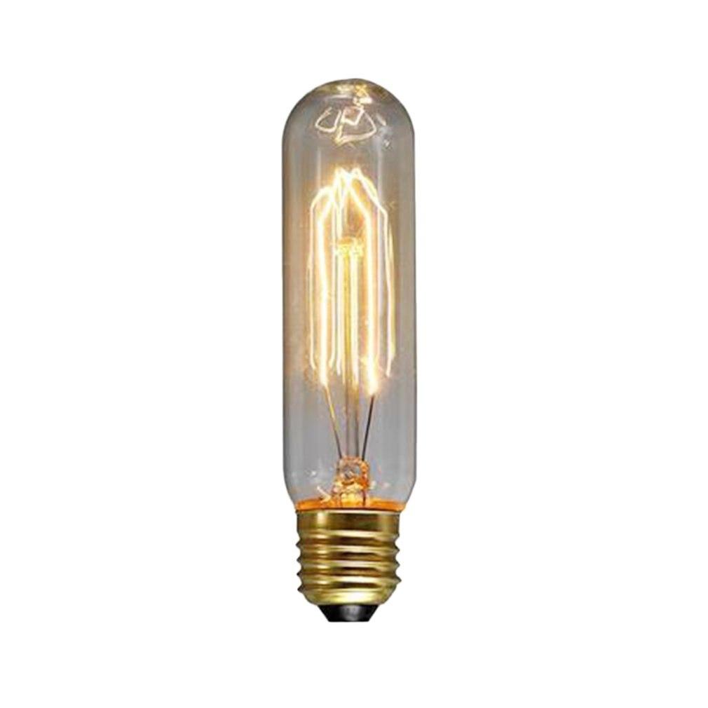 ICOCO 3 Вт, 5 Вт, 40 Вт, винтажная лампа Эдисона E27 E14 S, лампа накаливания, декоративсветильник Освещение для дома, Подвесная лампа
