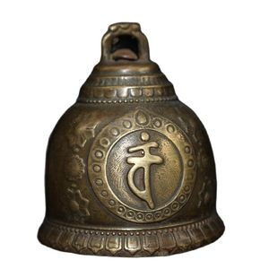 China Old Beijing Old Goods Seiko Tibetan Pure Copper Rattle