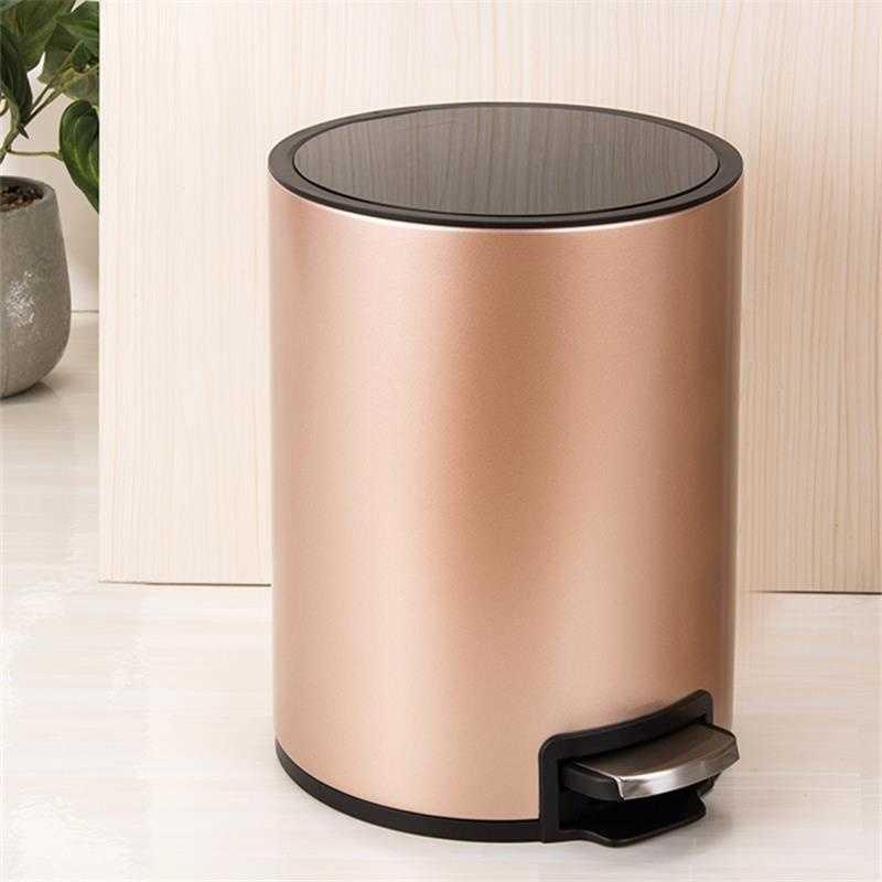 Dust Pattumiera Zero Waste Basurero Holder Oficina Garbage Papelera Cocina Pedal Recycle Cubo Basura Lixeira Trash Bin enlarge