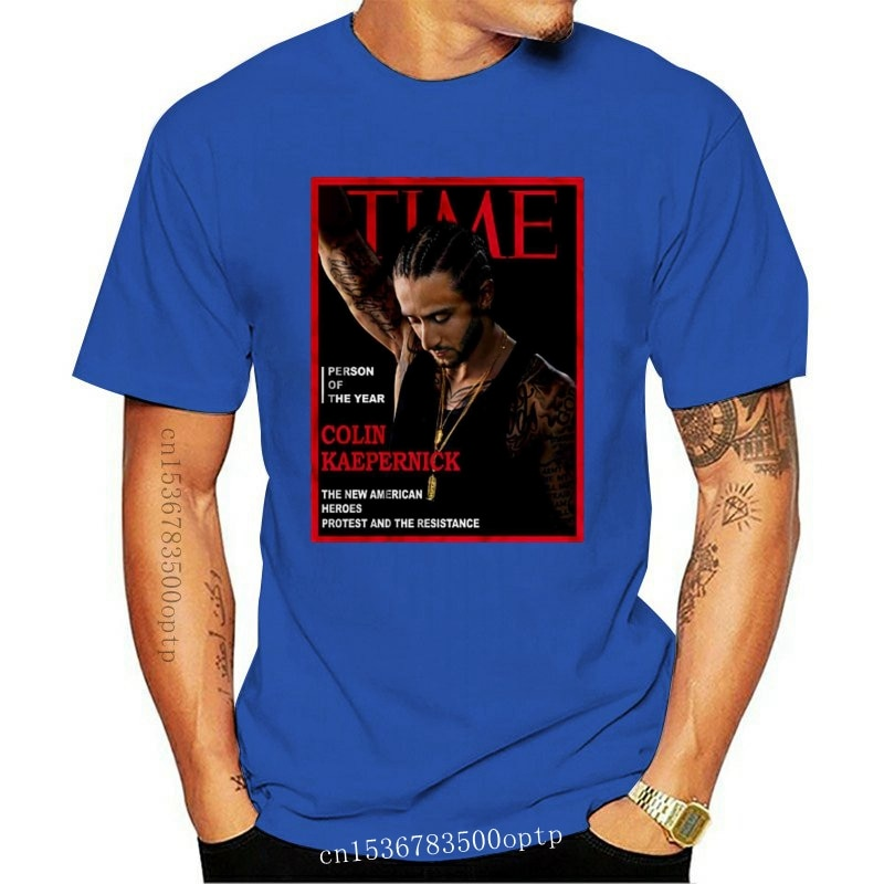 New Men T Shirt Time Person Of The Year Colin Kaepernick The 2021 American Heroes Protest And The Resistance Women t-shirt