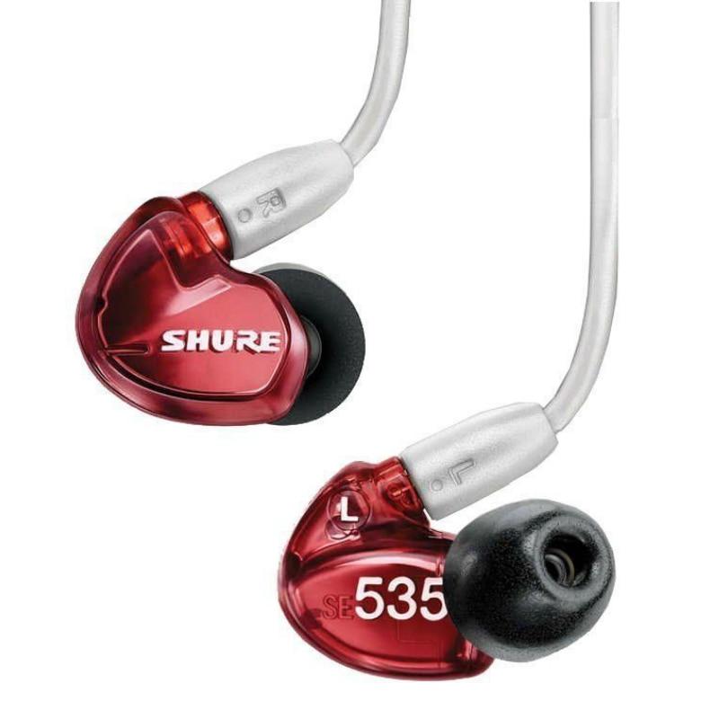 Auriculares SE535 LTD Inear armazón equilibrado en orejas aislamiento de ruido monitoreo de auriculares aislador Reinfltdorcing 3,5mm 6,5mm