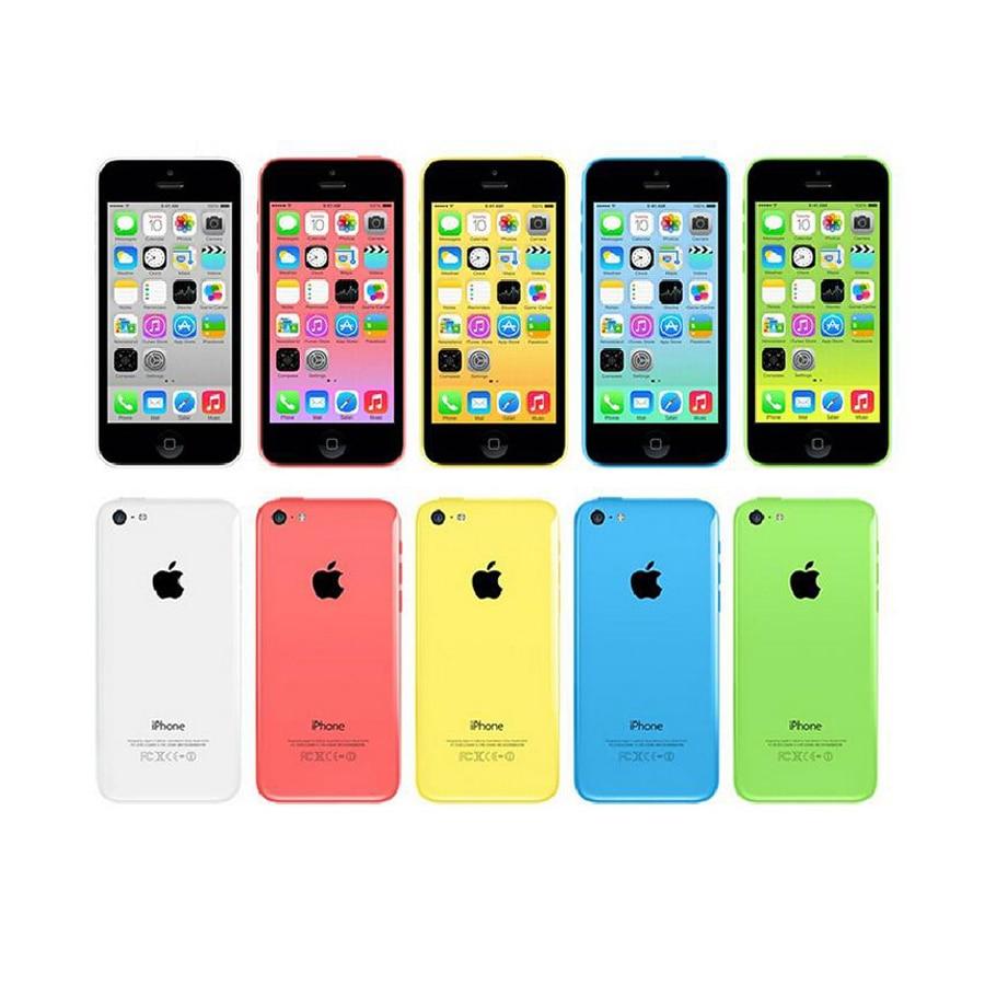 "Verwendet Entsperrt Original Apple Iphone 5C Handy 4.0 ""Dual Core 8MP Kamera Handy IOS WIFI GPS Alle tests gute Smartphone"