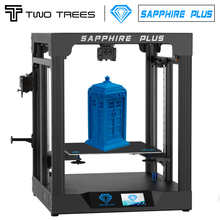 TWO TREES® Sapphire Plus Core XY 3D Printer With Full Metal Body/Double Linear Guide/BMG Extruder/Power Resume/Filament Detect