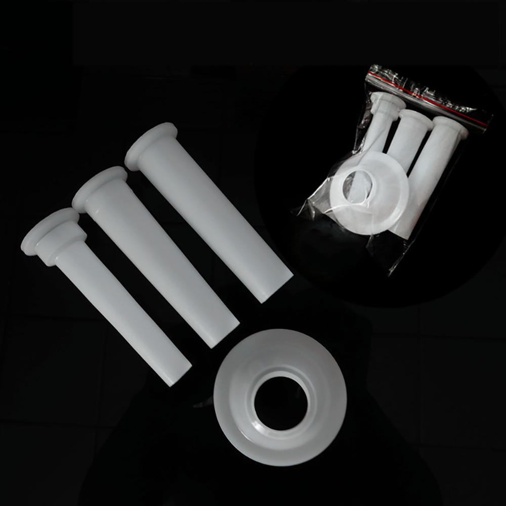 Herramientas de cocina, 3 piezas, molinillo de carne, tubos de llenado de salchichas, DIY, embudos, boquillas, máquina de llenado de carne, máquina de salchichas