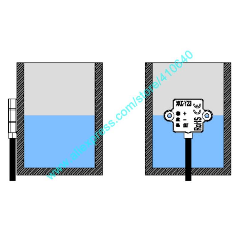 Sensor de Nível Líquido sem Contato para o Tanque de Peixes da Máquina de Café Baixo Sinal Alto Tamanho Pequeno dc 5v