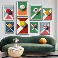 american football club wall painting canvas poster printing office painting home living room decoration painting poster