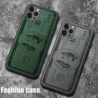 for iphone 1112series leather dollar embossed phone case 1112promax camera all inclusive phone case 1112pro case