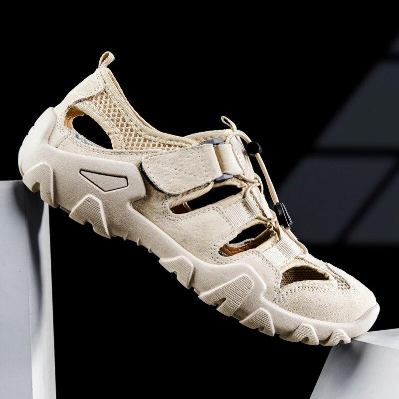 Mens Sandals fashion Classic Soft Roman Sandalias Hombre Outdoor Men breathable Shoes Gladiator