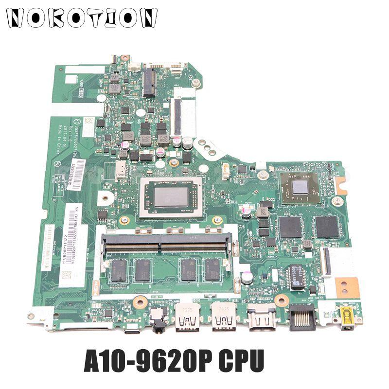 NOKOTION 5B20P11122 45116012206 DG526 DG527 DG726 NMB341 NMB-341 لينوفو IdeaPad 320-15ABR اللوحة المحمول A10-9620P وحدة المعالجة المركزية