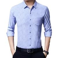 high quality striped plaid formal casual cheap mens long sleeve shirts