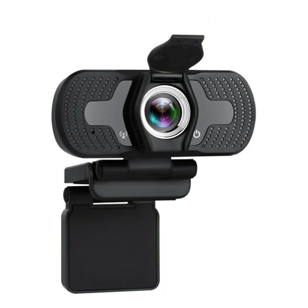 webcam usb com camera 1080p para computador camera para lives celebridades com capa