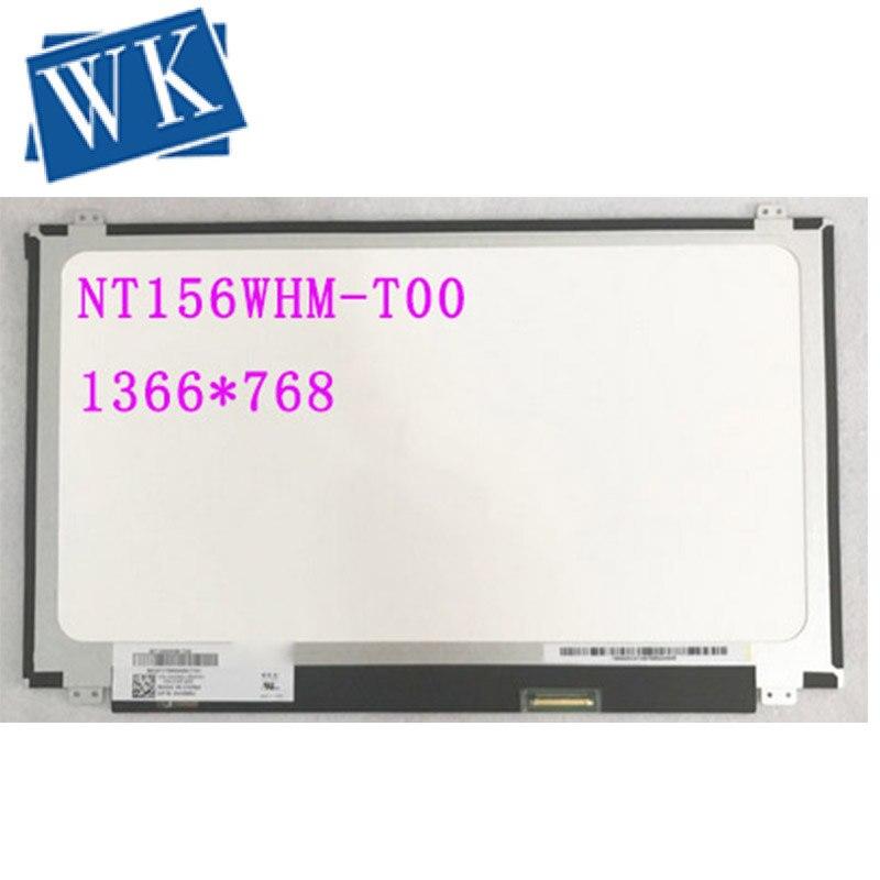 NT156WHM-T00 NT156WHM T00 شاشة LED مع اللمس محول الأرقام لديل DP/N 0HXNNJ 0HXNNJ مصفوفة محمول 15.6