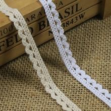 High quality tire cotton dog bit edge Y01004 DIY clothg textiles lace 1 cm wide  DIY fashion