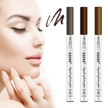 1pc 4 Fork Tips Eyebrow Tattoo Pen Eyebrow Pencil  Waterproof Best Seller 2020 Products Eyebrow Tint