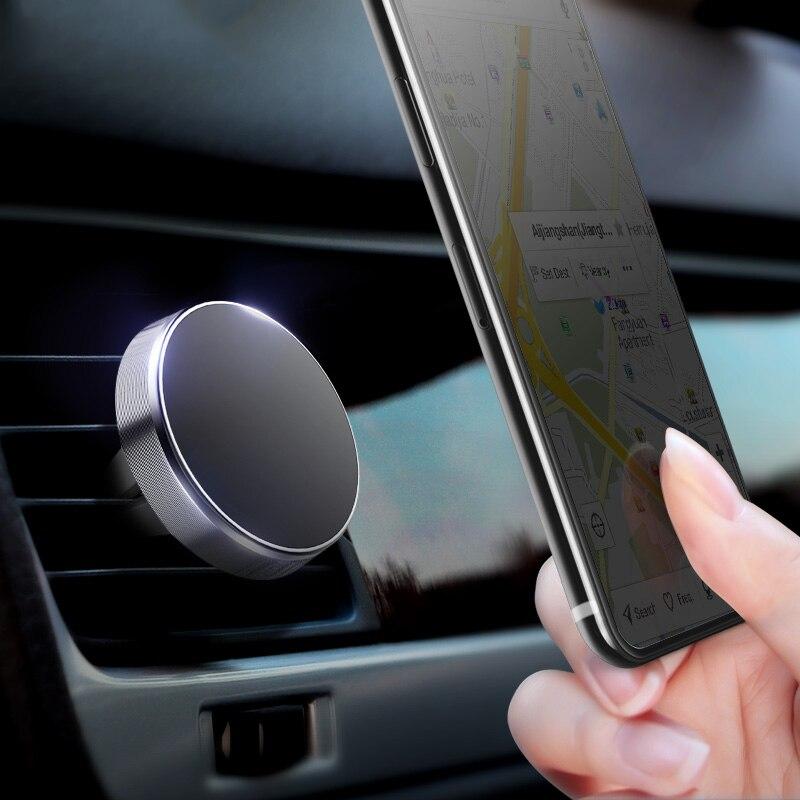 Soporte magnético del teléfono de la salida de aire del coche para audi a1 ford focus 2 audi a5 suzuki swift toyota chr bmw f31 opel mokka