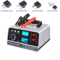 smart battery charger 12v24v automotive battery charger 400w trickle smart pulse repair for car truck boat motorcycle
