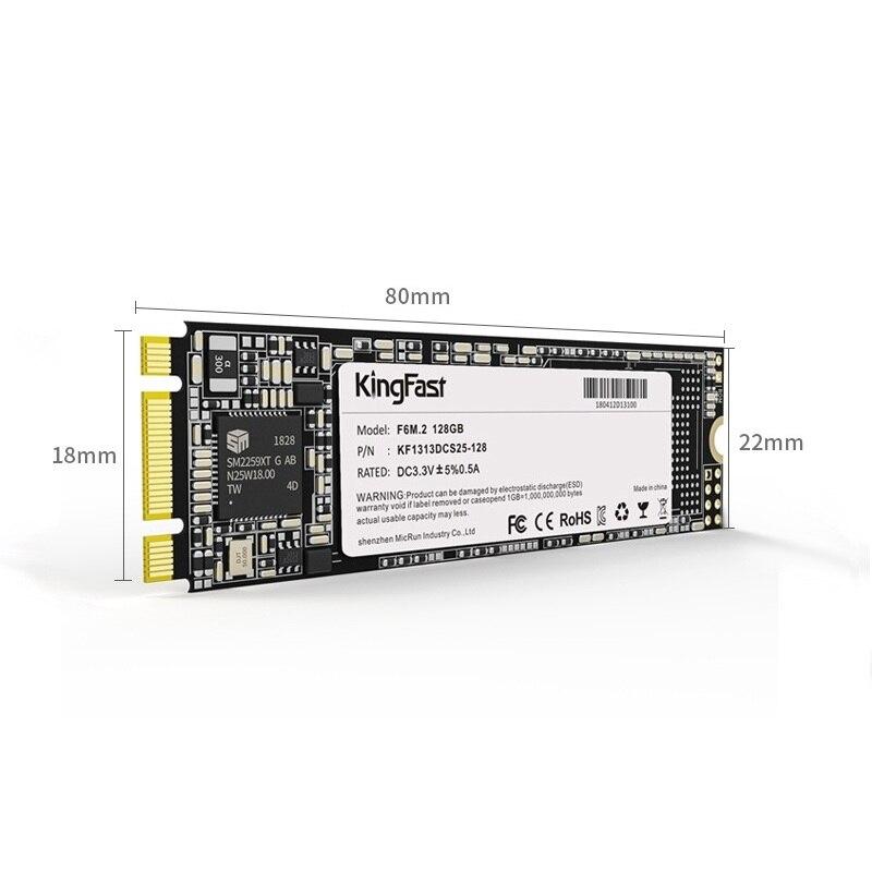 KingFast SSD M2 SATA 128GB 256GB 512GB 1 TB Solid State Disk 500GB 1TB M.2 NGFF 2280 Internal Hard Drives HDD for Desktop Laptop enlarge