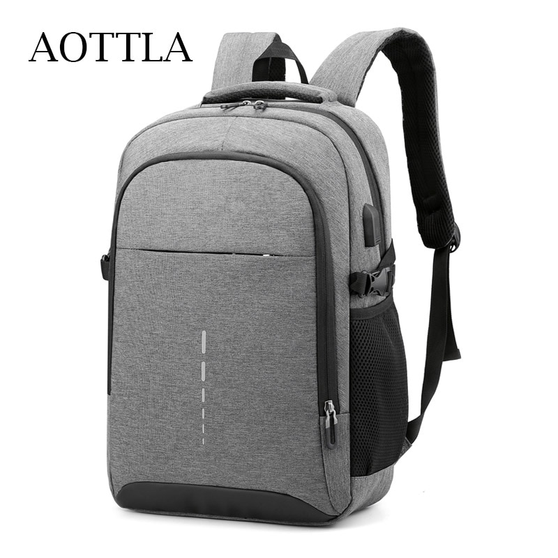 AOTTLA Man Backpack Anti Theft Oxford Cloth Men's Backpacks Fashion Brand Laptop Backpack Male Leisure College School Backpack