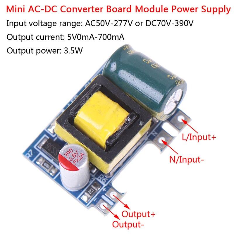 1PCS Mini Power Supply  AC-DC 110V 120V 220V 230V To 5V 12V Converter Board Module