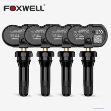 Автомобильный TPMS датчик Foxwell T10, активированная Программа s, клон, контроль давления в шинах, Универсальный Датчик OEM, покрытие 98%