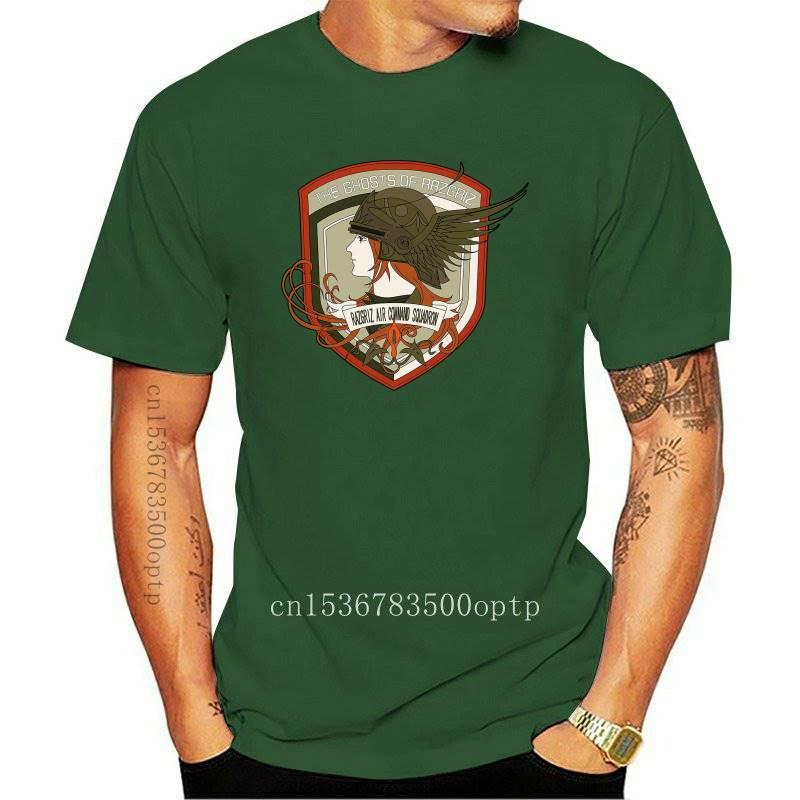 Camiseta de manga corta Unisex, camisa de Ace Combat, Razgriz Squadron