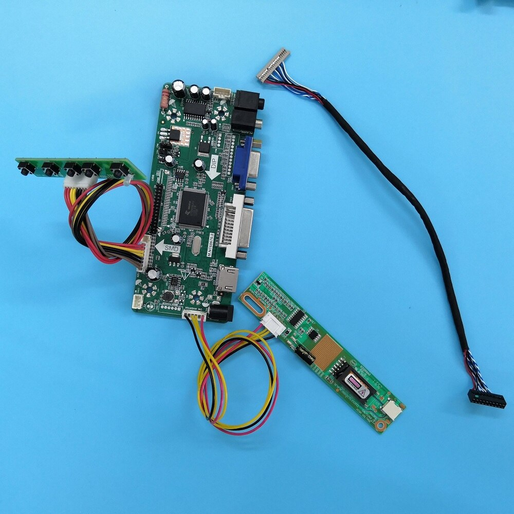 Painel hdmi para LP133X7-F2IB 1024 × 768 kit de exibição dvi lcd diy vga lvds led screencontroller placa 20pin m. nt68676 driver
