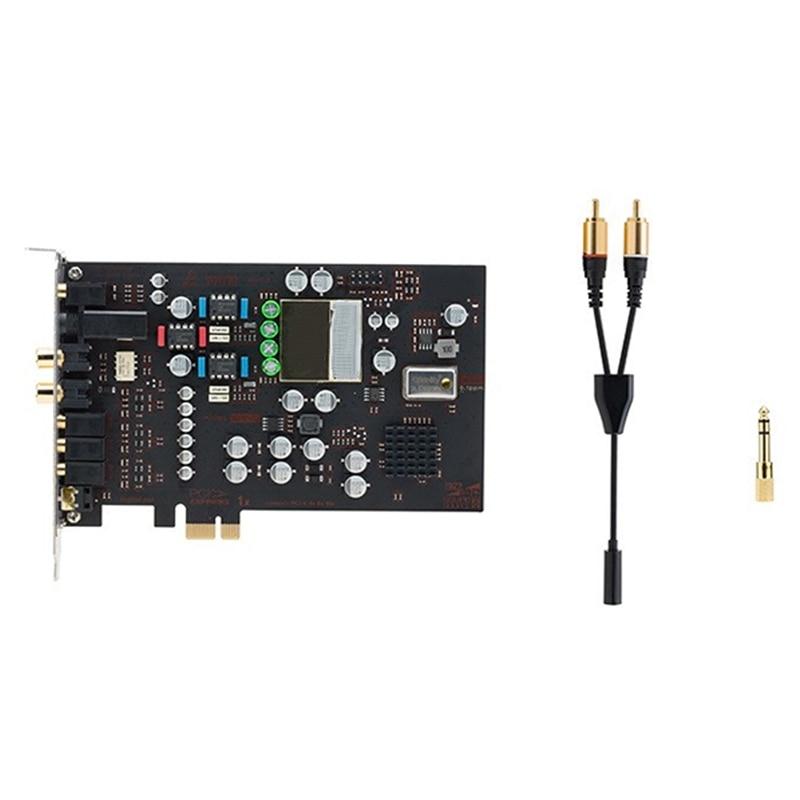 Независимый Настольный усилитель Op Amp DAC встроенная звуковая карта HIFI PCI E [звуковой источник PCIe MaX] компенсация HiFi/Warm