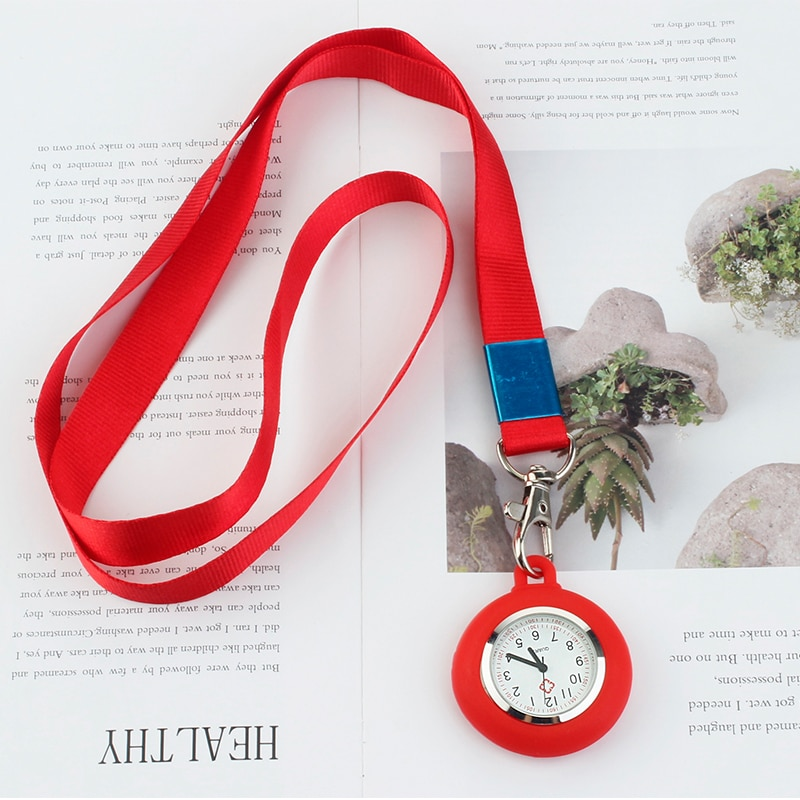 Ремешок клип медсестры карманные часы медсестры часы Силиконовые карманные часы нагрудные часы медицинские медсестры карманные часы медс...