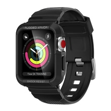 อุปกรณ์เสริมสำหรับนาฬิกาApple Watch Case 42มม.44มม.40มม.ป้องกันIwatch Apple Watch 5/4/3/2 tpuกันกระแทกกันชน