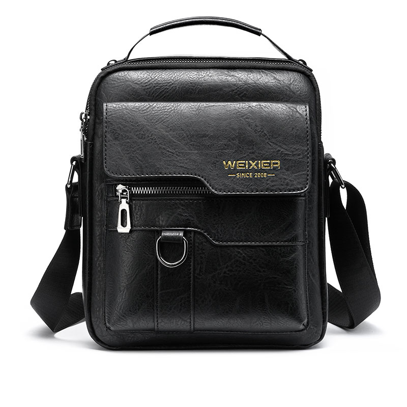 New Men Crossbody Bag Shoulder Bags Multi-function Men Handbags Large Capacity Split Leather Bag For Man Messenger Bags Tote Bag