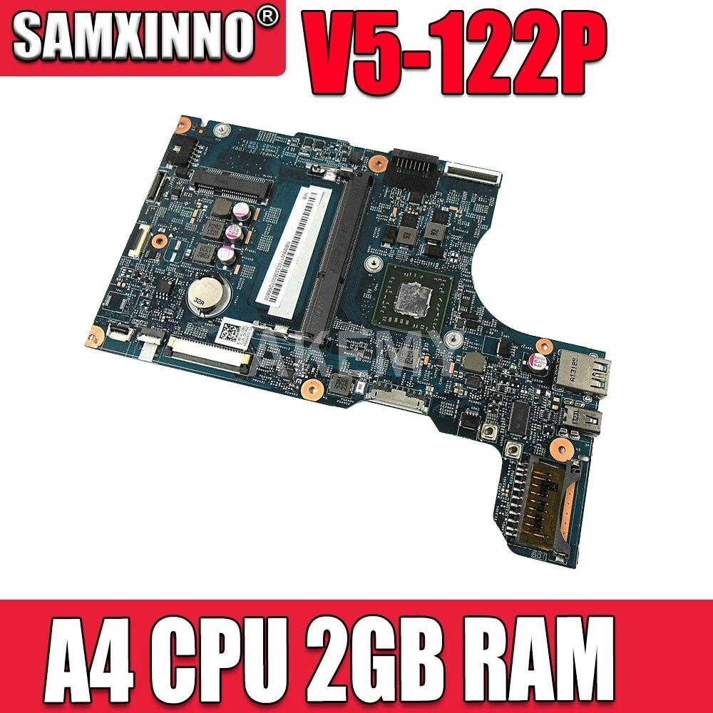 Akemy لشركة أيسر أسباير V5-122P اللوحة الأم للكمبيوتر المحمول A4 وحدة المعالجة المركزية 2GB ذاكرة الوصول العشوائي على متن NBM8W11001 48.4LK02.011